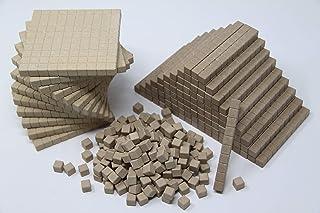comprar comparacion WISSNER Juego de Aprendizaje Activo Big Dienes Base Ten de RE-Wood, 432 Piezas en Caja de cartón, Multicolor (WissnerR3957...