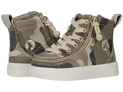 BILLY Footwear Kids Classic Lace High (Toddler) (Natural Camo) Boy