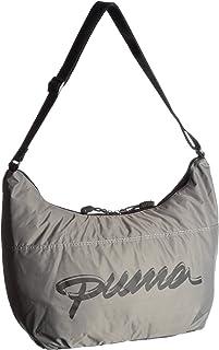 PUMA Damen Umhängetasche Core Shoulder, Black-Steel Grey, UA, 15 liters, 069951 01