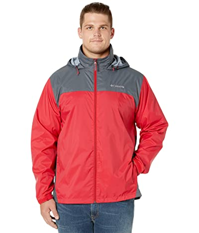 Columbia Big Tall Glennaker Laketm Jacket (Mountain Red/Graphite) Men