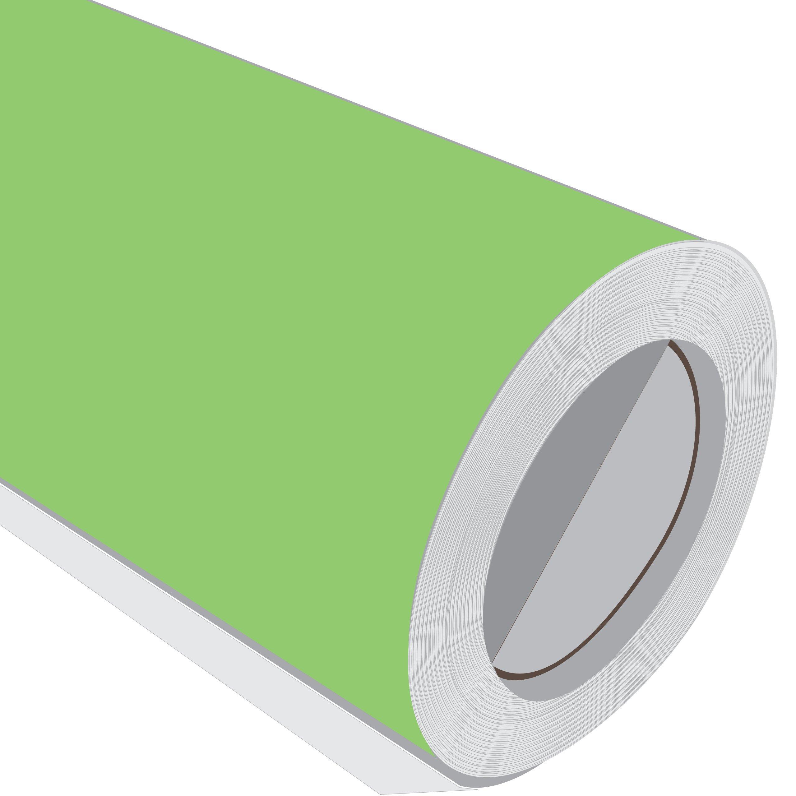 1 Metre (1 m) rollo de HD Apple verde mate 610 mm de ancho Vinilo autoadhesivo: Amazon.es: Hogar