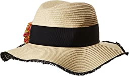 Betsey Johnson - Pom Pom Girl Panama Hat