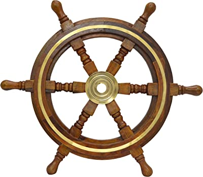 Amazoncom Sailors Special Sh 8760 Ship Wheel 12 Inch 12 Home