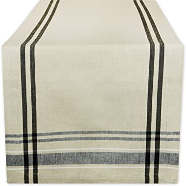 DII 100% Cotton French Stripe Tabletop Collection For Everyday Indoor/Outdoor Dining, Special Occasions or Dinner Parties, Ma