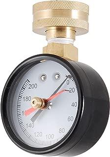 LDR 020 9645 Pressure Gauge, 3/4-Inch IPS, 200 lb. Pressure