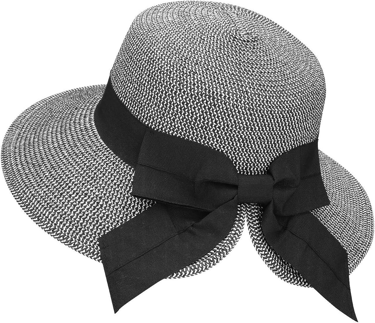 Verabella Sun Hats for Women UPF 50+ Women's Lightweight Foldable/Packable Beach Sun Hat