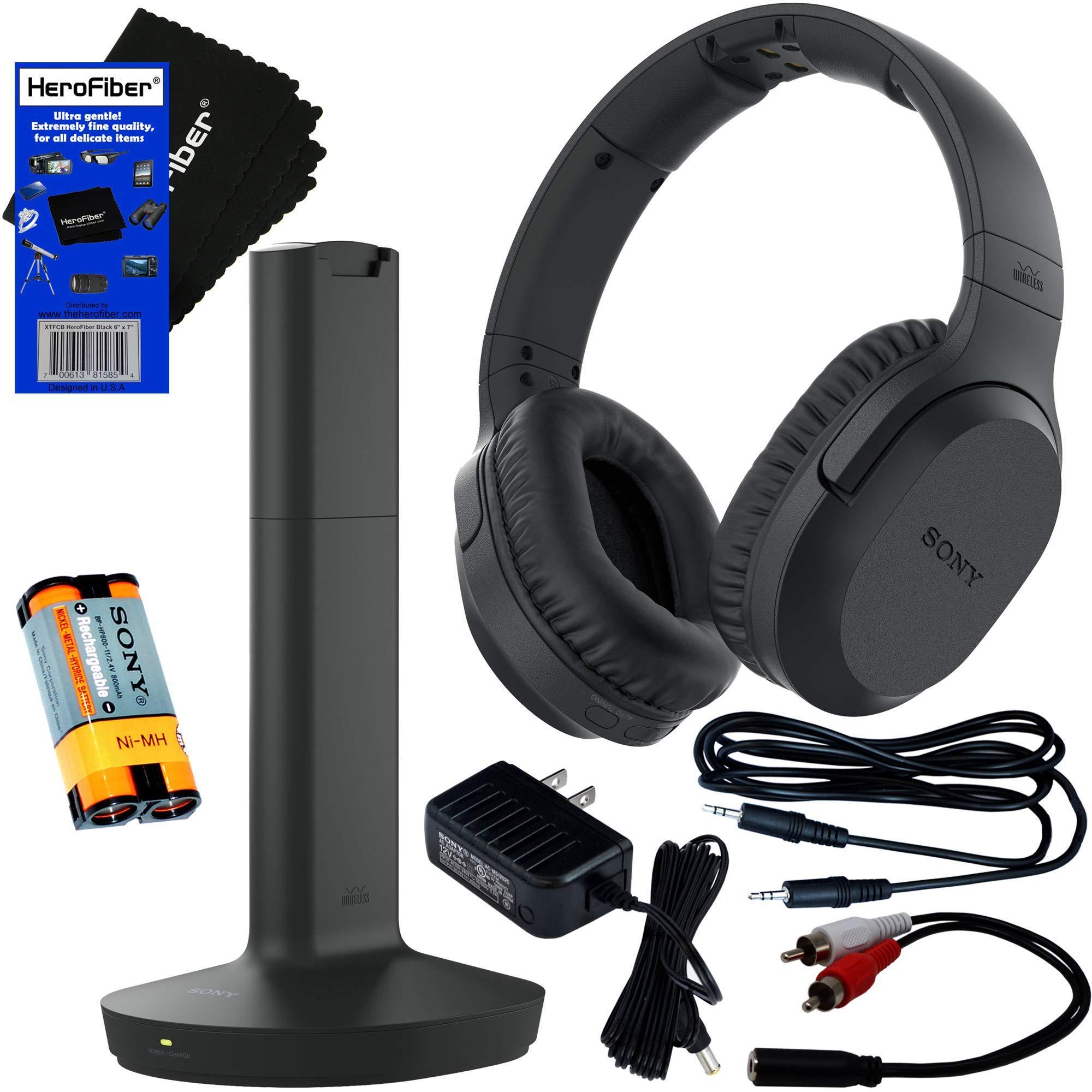 Headphones Transmitter Rechargeable Connecting HeroFiber