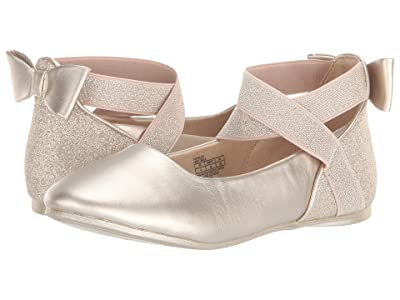 Kenneth Cole Reaction Kids Tap Glitz (Little Kid/Big Kid) (Light Gold) Girl