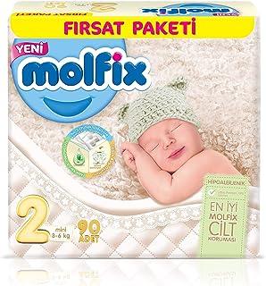 Molfix 3D Bebek Bezi Mini 2 Beden, Fırsat Paketi 100 Adet