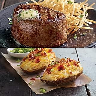 Kansas City Steaks 4 (6oz.) Filet Mignon and 4 (8oz.) Twice Baked Potatoes