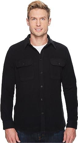 Quiksilver Waterman - RIVERWILD Long Sleeve Polar Fleece Shirt