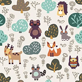 TRS Passport Cover for Kids Woodland Animals