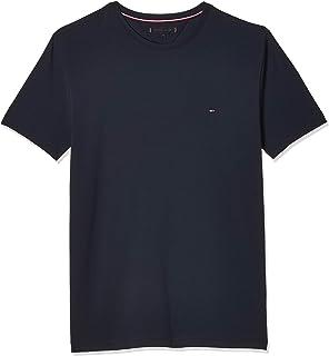 Tommy Hilfiger Men's Core Stretch Slim Cneck Tee T-Shirt, Grey (Cloud HTR 501), XXX-Large