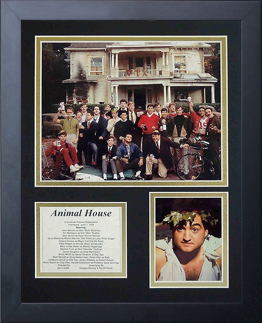 Legends Never Die Animal House Framed Photo Collage, 11x14-Inch