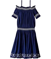 Ella Moss Girl - Zada Voile Dress (Big Kids)