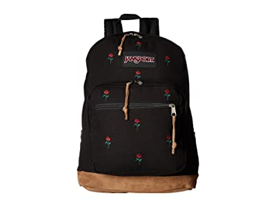 JanSport Right Pack Expressions (Embroidered Roses) Backpack Bags