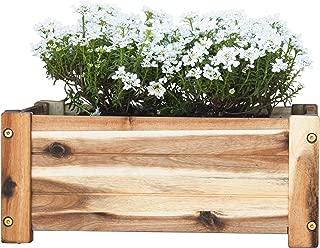Best wooden garden planter boxes Reviews