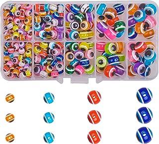 Fishing Eye Beads Assortment, Fish Rigging Bead Kit Multicolor Fish Lure Beads Fishing Tackle Kit 235pcs / 380pcs