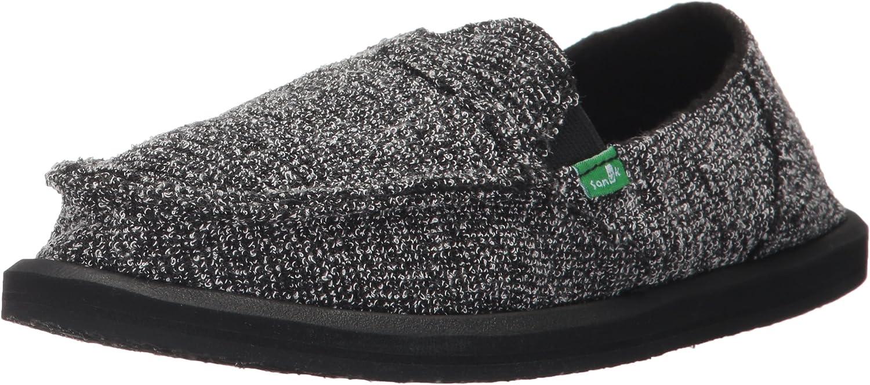 Sanuk Womens Pick Pocket Knitster Slip-On Loafer