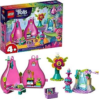 LEGO Trolls World Tour Poppy's Pod 41251 Trolls Playhouse Building Kit with Poppy Troll Minifigure, New 2020 (103 Pieces)