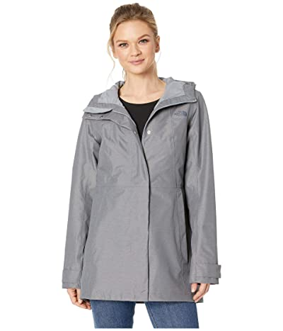 The North Face City Midi Trench (TNF Medium Grey Heather) Women