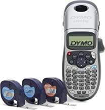 DYMO Label Maker with 3 Bonus Labeling Tapes | LetraTag 100H Handheld Label Maker &..