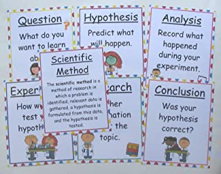 The Teacher Depot Educational Resource Bulletin Board Scientific Method Anchor Chart Posters