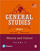 General Studies Paper-I for the Civil Services Preliminary Examination: History and Culture (Volume 6)