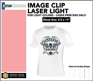 Image Clip Laser Light Self-Weeding Heat Transfer Paper 8.5 x 11-20 Sheets