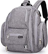 Diaper Backpack by Bliss Bag for Baby Girls, Boys, Twins, Moms & Dads
