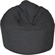 Sattva Polka Party XXXL Sofa Bean Bag Without Beans (Black Polka)