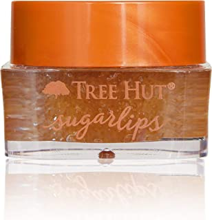 Tree Hut Sugar Lips Brown Sugar Lip Scrub, 0.34oz, Ultra Hydrating Lip Scrub for Nourishing Essential Lip Care
