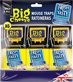 The Big Cheese Fresh Baited Mouse Trap, Multicolour