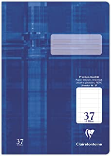 Clairefontaine Notebook A4 331637C Premium Quality Punched, Lined,32 Pages