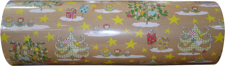 Stewo Geschenkpapier Weihnachten Hedwig Rolle 250m 250m 250m x 50cm B01HEIYDTE | Schön und charmant  c22f4a
