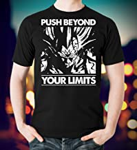 Dragon Ball Saiyan Shirts Push Beyond Your Limits T Shirt Long Sleeve Sweatshirt Hoodie Youth