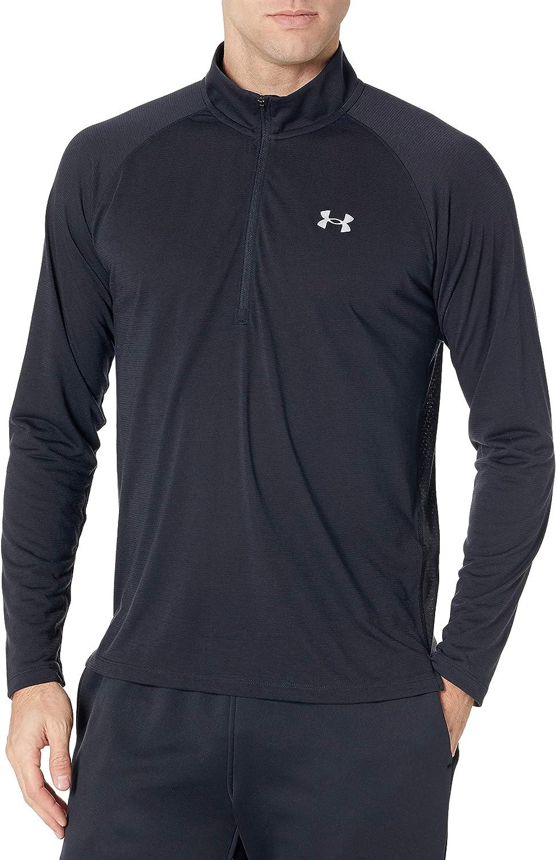 Under Armour Mens Streaker Half Zip T-Shirt