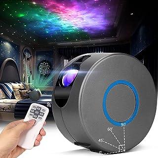 Led-sterrenhemel projectorlamp, laserprojector sterrenhemel met afstandsbediening, 15 modi, Galaxy projector licht met mis...