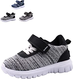 Gerber Strap Jogger Sneaker Shoes for Toddler Boy Light Weight, Casual Walking and Running Shoes