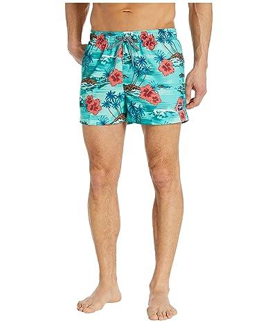 Speedo Seaside Floral Redondo Volley 14 (Oil Blue) Men