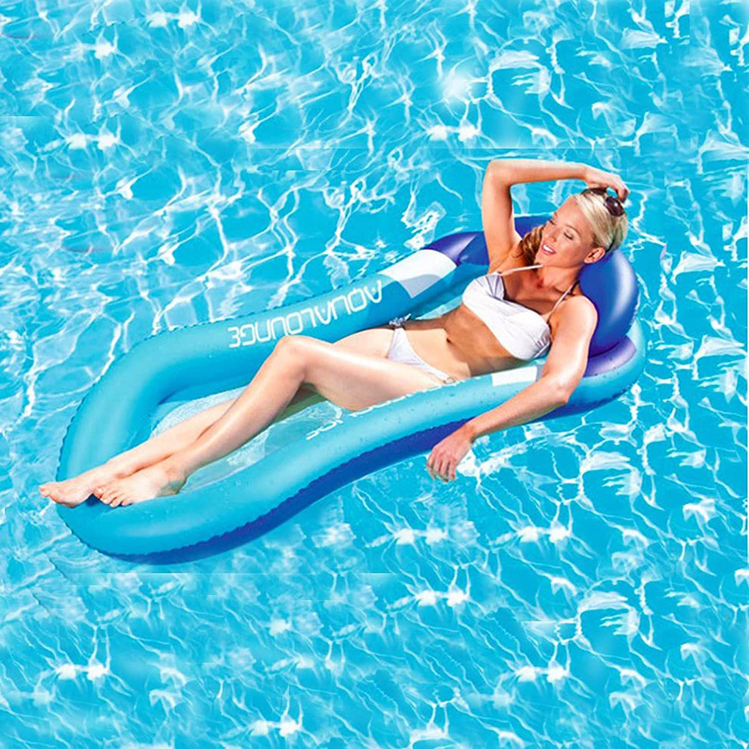 QIHUI Water Floating Hammock Comfortable Pool Float We OFFer at cheap prices Low price Loun Spring
