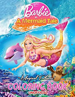 Magical Places! - Barbie in A Mermaid Tale: An Amazing Coloring Book for Fans of Barbie