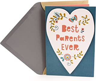 Hallmark Anniversary Card for Parents (Best Parents)