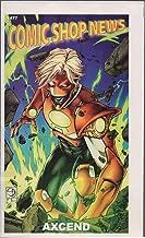 Comic Shop News, no. 1477 (2015) (cover: Axcend): Spider-Man vs Sub-Mariner, Guardians of Infinity, Immortalis, Batman: Europa, Constantine the Hellblazer, Darkseid War, Batmain Noir: Black Mirror
