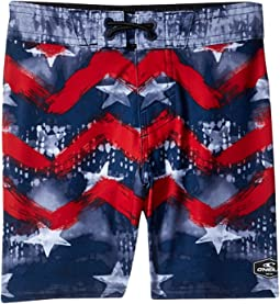 Hyperfreak Independence Boardshorts (Toddler/Little Kids)