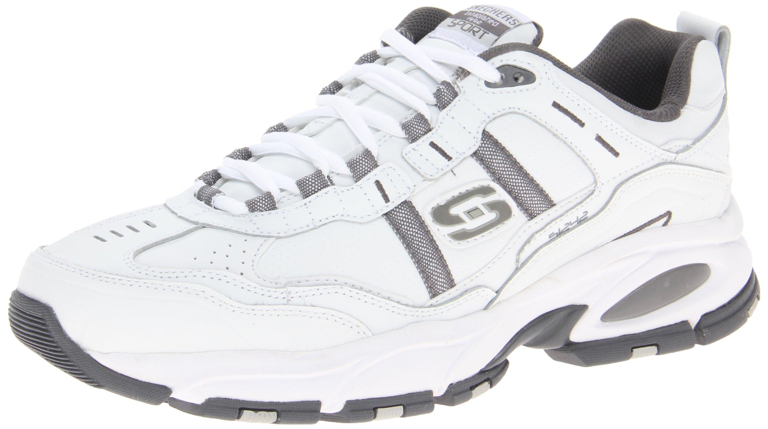 Skechers Serpentine Memory Sneaker Charcoal