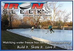 Iron Sleek Skating Rink Kit Size: 20' x 46'