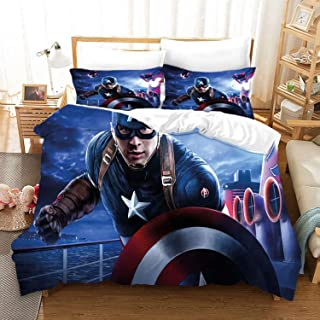 Amazon Com Captain America Bedding Bedding Sets Collections Kids Bedding Home Kitchen