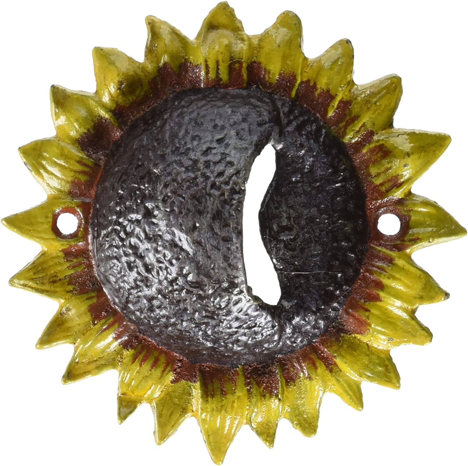 Design Toscano Sunny Sunflower Cast Iron Opener Large special price Bottle Ranking TOP11