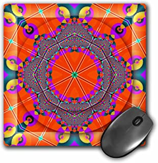 3dRose 3dRose LLC 8 X 8 X 0.25 Inches Mandala Meditation Harmony Inner Peace Red Purple Yellow Blue Gold Zen Joy Chakra En...